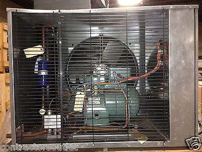 Carrier Outdoor Walk In Cooler 3hp Carlyle Semi R22 Mid Temp Condensing Unit 3p