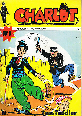 Comics: Charlot N°1 1973. wiliams