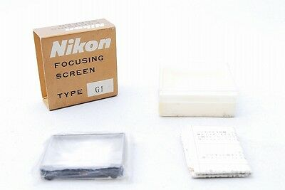 Rare!! Mint Nikon Focusing Screen Type-G1 for F F2 F2AS F2A F2S F2SB from Japan