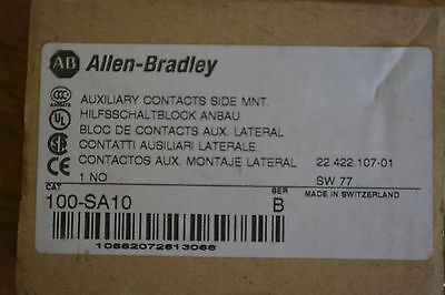 Allen Bradley Auxiliary Contact Side Mount 100-SA10 SERIES B