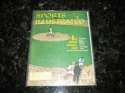 April 11, 1960 Sports Illustrated Magazine-6th Annual Baseball Issue