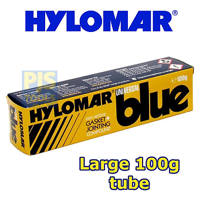Hylomar blue 100g tube universal jointing compound instant gasket replacer