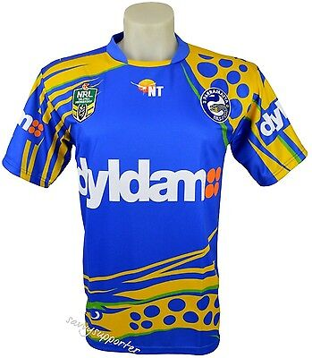 Parramatta Eels NRL Northern Territory Jersey 'Select Size' S-3XL BNWT5