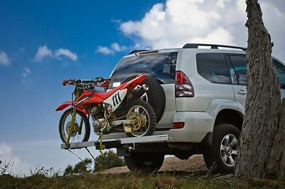 Mo-Tow Mx 1.53m Tow Ball Bar Motorbike Small <150cc Motocross Bike Ramp Carrier