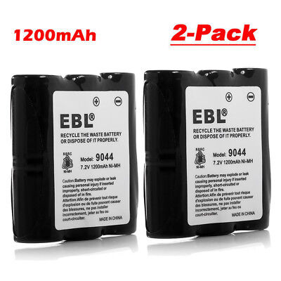 2x 1200mAh HNN9044A HNN9056A Battery For Motorola HNN9056 Spirit SP10 P10 SP50