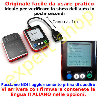 Diagnosi Palmare Creader V 5 Scanner Obd Launch Manuale Obd2 Tutte Le Auto New V