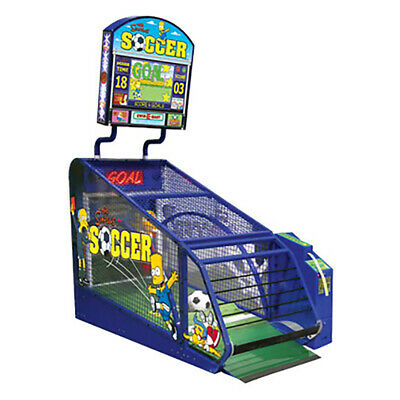 The Simpsons Soccer Redemption Game