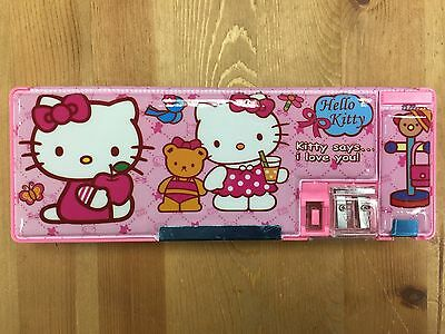 Hello Kitty Magnetic Pencil Case Box Pouch