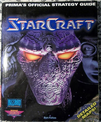 star craft prima's official strategy guide book blizzard 1998