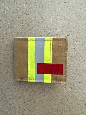 Firefighter Wallet Made From Recycled Turnout Bunker Gear Rescue Gift Tactical