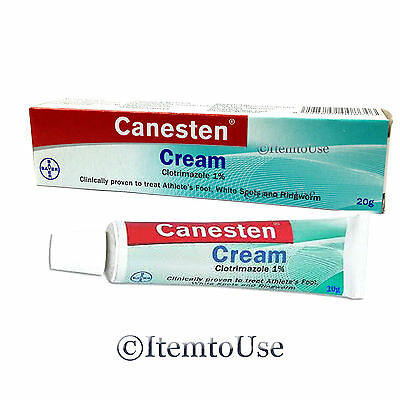 CANESTEN vaginal clotrimazole yeast infection vagisil cream 20 grams