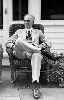 HENRY FORD GLOSSY POSTER PICTURE PHOTO cool cars Detroit historical 2151