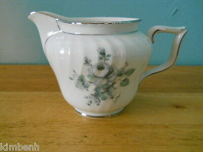 """CREAMER"" in the Blue Rose Pattern by ""Royal Bayreuth"" Estate Item"