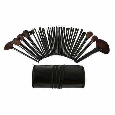 32 Pcs Professional Makeup Eyebrow Shadow Cosmetic Brush Set Kit With Pouch SC