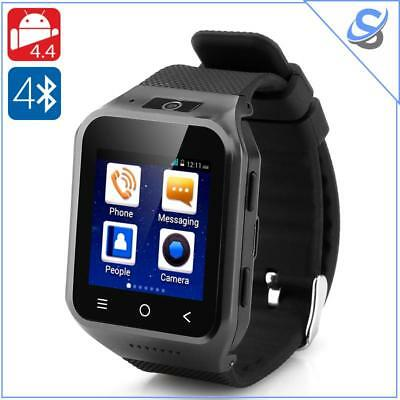 """ZGPAX S8 Smartwatch Android 4.4 Dual Core LCD 1.54"""" RAM 512MB ROM 4GB 5MP Black"""