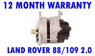 LAND ROVER 88/109 2.0 4X4 63 64 65 66 67 68 69 70 71 72 73 74 74 - 84 ALTERNATOR