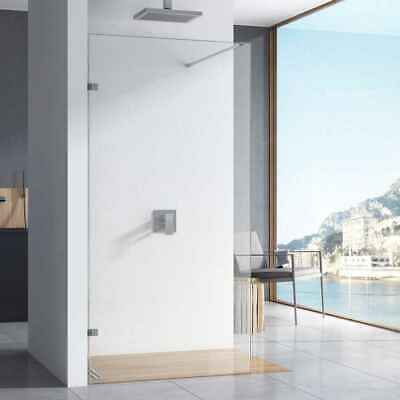 10mm Easy Clean Wetroom Screen/Walk In Shower Panel 2000mm High