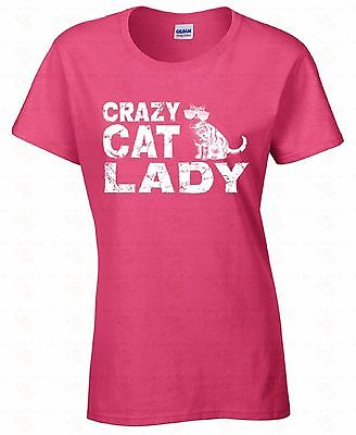 Crazy Cat Lady WOMEN T-SHIRT Humor Ladies Shirt Hipster Collage funny cat shirts