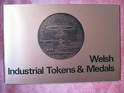 Book; Welsh Industrial Tokens and Medals.