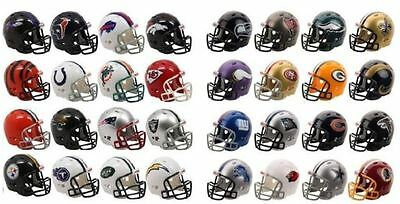 Nfl Riddell Pocket Pro Revolution American Football Helmet - 32 Teams Available