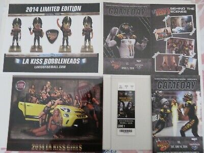 La Kiss, Arena Football, Opening Game Ticket & Program Cover, Kiss Girls & More!