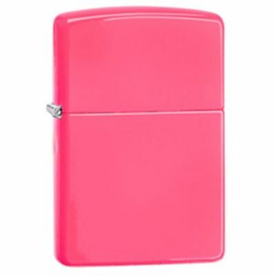 Zippo Windproof Neon Pink Lighter, 28886, New In Box