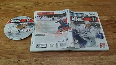 Nintendo Wii NHL 2K11 (No Manual) [Rare] Last One Made On Wii FREE Domestic Ship