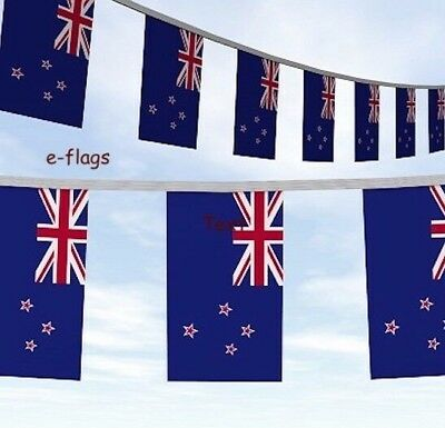 20 Metres New Zealand Flag Bunting Rugby