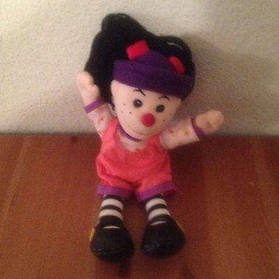 """Big Comfy Couch 10"""" Loonette Beanie Style Plush Doll 1997 VGC"""