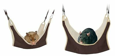 Hammock for Hamster Gerbil Mouse Rat Rodents Hanging Bed Cage Furniture