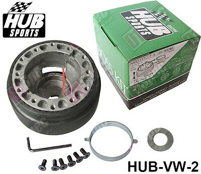 STEERING WHEEL HUB BOSS KIT ADAPTER VW-2 fits VOLKSWAGEN GOLF MK2