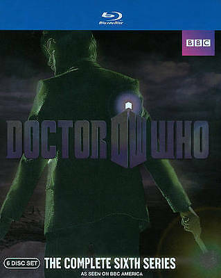 New/Sealed DOCTOR WHO: Complete Sixth Series [Blu-ray Disc, 2011, 6-Disc Set]