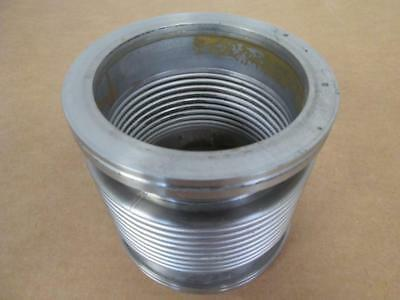 """Edwards  4"""" ID Flexible Bellows, Stainless Steel"""