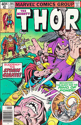 The Mighty Thor #295 FN Feat. Loki (1980) Bronze Age Marvel