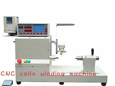 New computer fully automatic coils winder winding machine with large baseboard