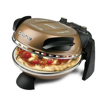 Delizia Pizzamaker Italy Pizza-Ofen Pizza in 3 min. fertig Black Edition NEU