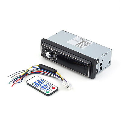 Car Audio Stereo In Dash Fm With Mp3 Player USB SD Input AUX Receiver Remote DX