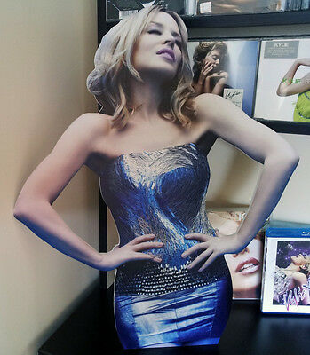 KYLIE MINOGUE Display Stand Standee Aphrodite NEW Sexercize Into The Blue Slow