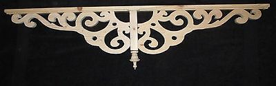 "Victorian Wood Gingerbread Trim { 44"" x 10"" } Drop Pendant Bracket #38P ~ by PLD"