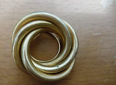 Scarf Clip, Pin, Metal,gold , Vintage