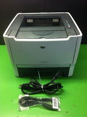 HP LaserJet P2015 CB366A Workgroup Printer - Page Count 68630 No Drum/Toner