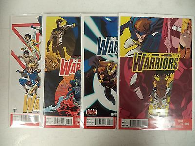 New Warriors Complete Run/Set/Lot 1 2 3 4 5 6 7 8 Marvel Now