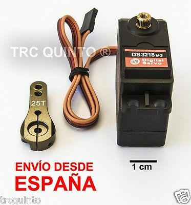 Servo Alta Potencia estanco DS3218  20kg-7,2v (servo arm including)