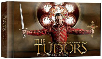 The Tudors - The Complete Series 15 DVD Set Special Features, Seasons 1 - 4 NEW