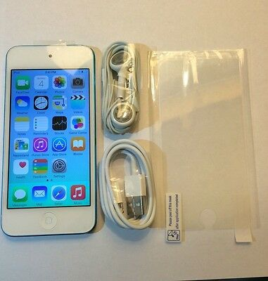 Apple iPod touch 5th Generation Blue (32 GB) (Latest Model) New Screen Installed