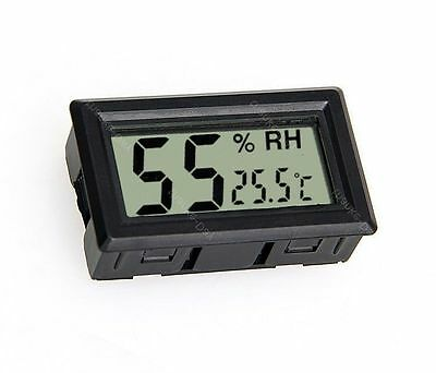 Digital LCD Hygrometer + Thermometer Hydrometer Feuchte-messer Humidity Meter 08