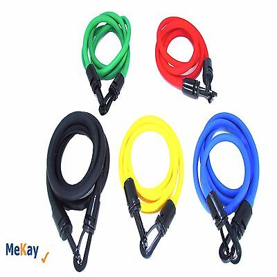 11 PCS RESISTANCE BANDS FITNESS EXERCISE LATEX TUBE ABS X90P FOR YOGA,WORKOUT