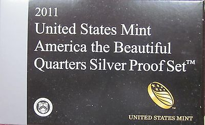 2011S America the Beautiful 5 Coin Silver Proof Set