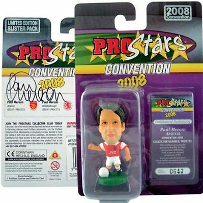 Corinthian Paul Merson - Arsenal Signed Convention 2008 Blister Pack