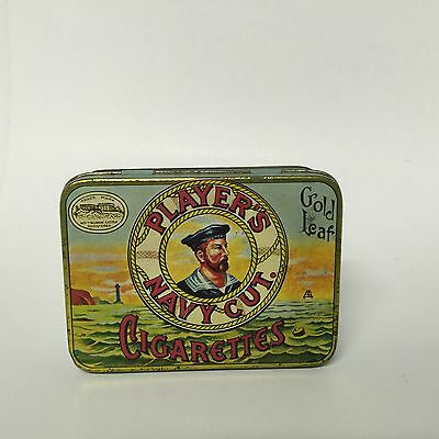 Vintage Players Navy Cut Cigarette Tin